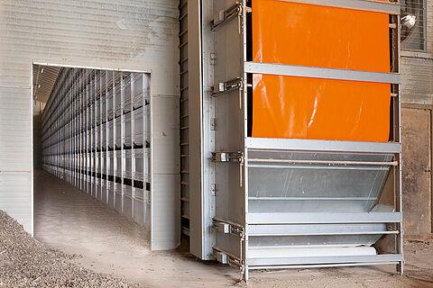 Тунел за сушене на торова маса OptiSec