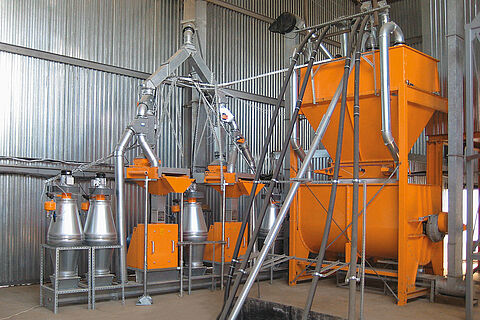 Milling and Mixing systems