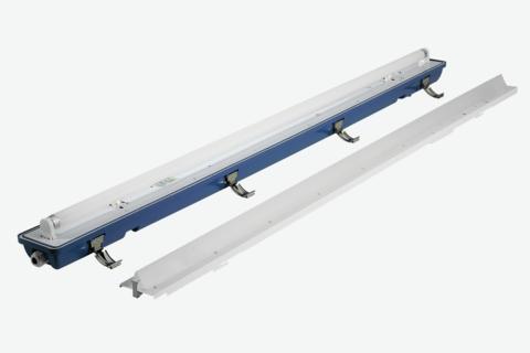 LED retrofit kit for traditional moisture-proof lamps